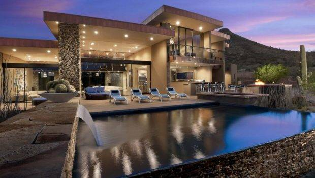 Award Winning Modern Luxury Home Arizona Sefcovic Residence