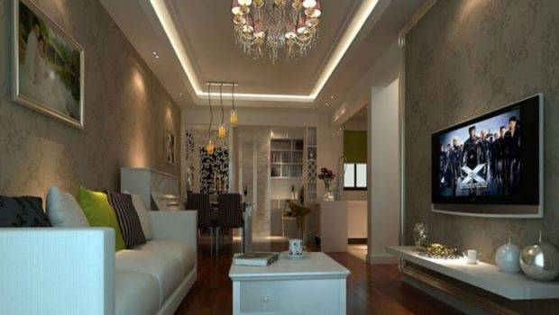 Awesome Decorating Long Living Room