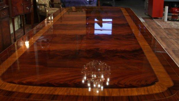 Awesome Duncan Phyfe Dining Room Table Extra Large