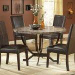 Awesome Marble Top Round Dining Tables Small Area