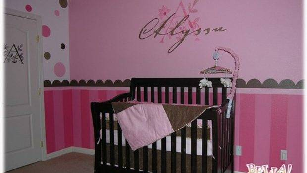 Baby Nursery Decor Photograph Girl Decorating