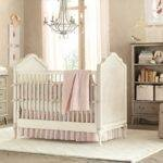 Baby Nursery Room Design Ideas Gray Pink Girls Jpeg