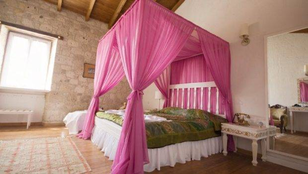 Bacati Bed Canopies Come Bright Whimsical Colors