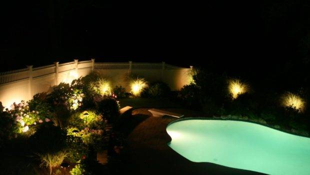 Back Post Pool Area Lighting Your Beautiful Residence
