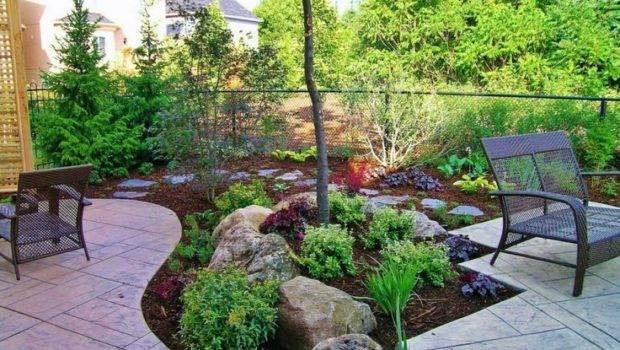 Backyard Ideas Cheap Small Garden Landscaping