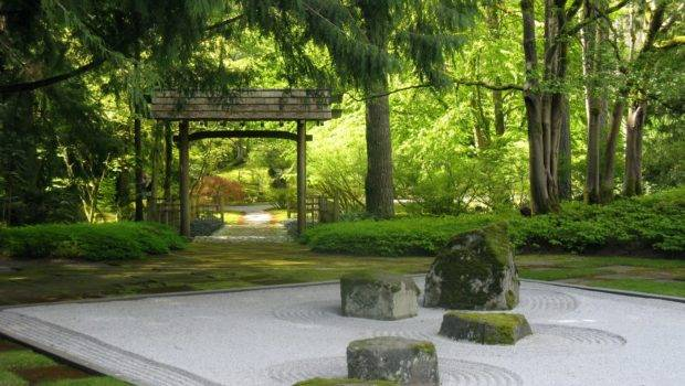 Backyard Japanese Zen Design Ideas Furniture Home