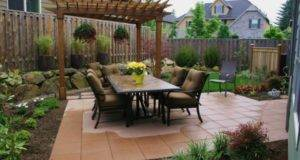 Backyard Patio Renovations Small Back Yard Landscaping Ideas