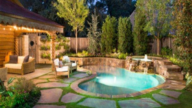 Backyard Pool Designs Small Yards Spectacular