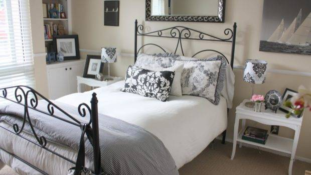 Balanced Style Guest Bedroom