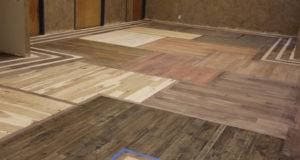 Bamboo Showroom Flooring Remodel