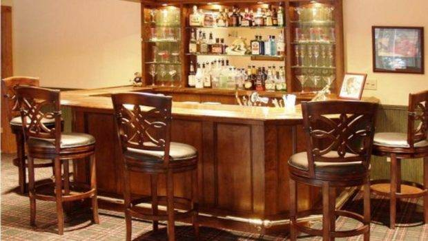 Bar Decorating Ideas Mini Custom Home