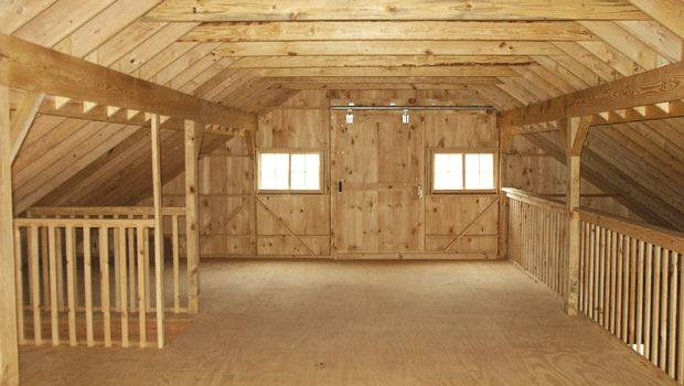 Barn Loft Construction Building Garage