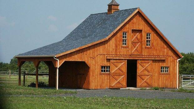 Barns Pinterest Barn Plans Pole Horse