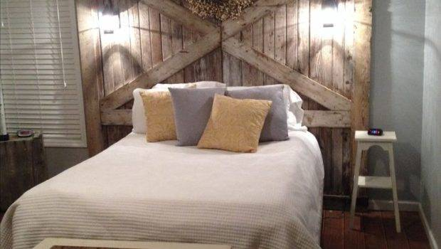 Barnwood Headboard Top Best Barn Wood Ideas