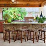 Bars Decorating Ideas Patio Traditional Design
