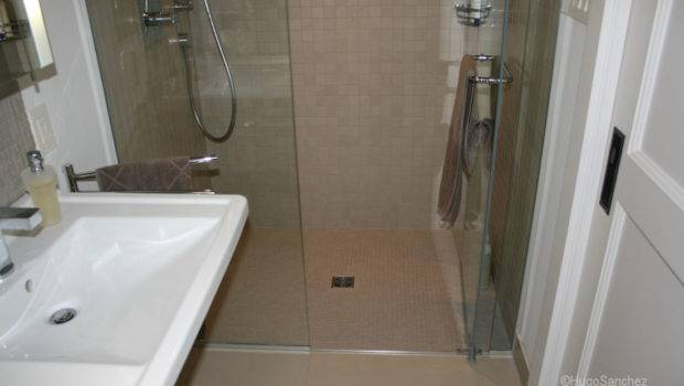 Basement Curbless Shower Ramiques Hugo Sanchez Inc