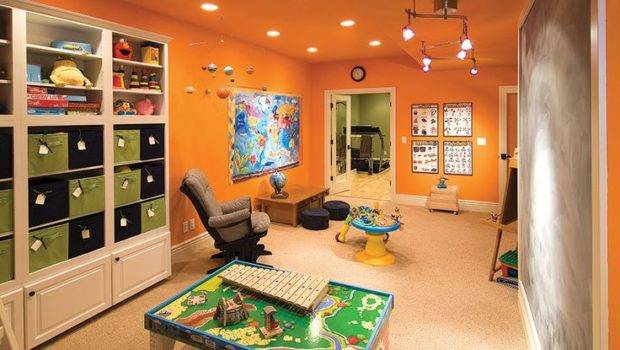 Basement Kids Play Area House Organization Decor Pinterest