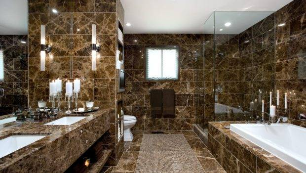 Bathroom Before After Toffee Italian Marble Timeless