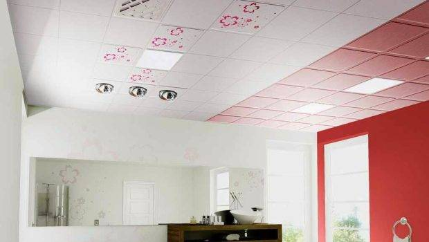 Bathroom Ceiling Ideas Designs Types Decorative Tiles