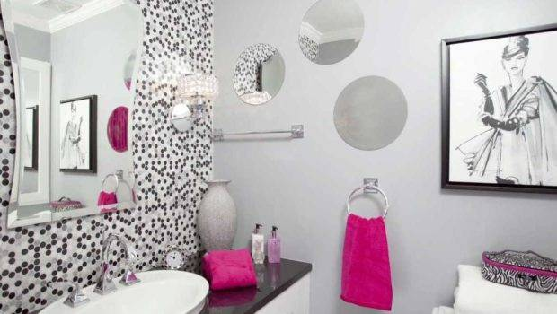 Bathroom Decor Ideas Black Grey Vanity Backsplash