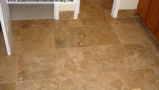 Bathroom Floor Travertine Tiles Shower