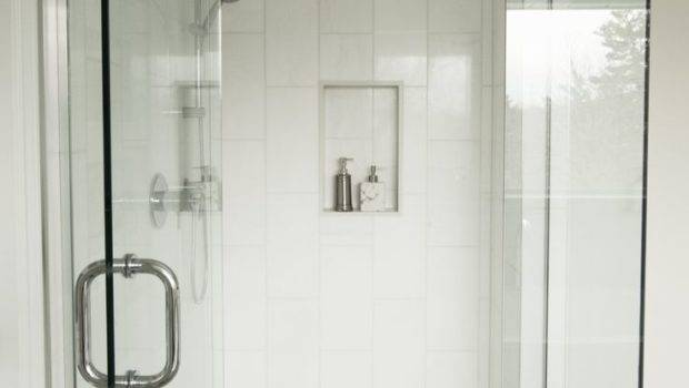Bathroom Gorgeous White Decoration Using Square