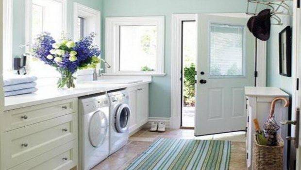 Bathroom Laundry Room Layout Design