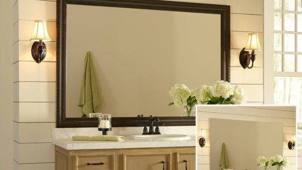 Bathroom Mirror Ideas Wall Custom Mirrors Znanie