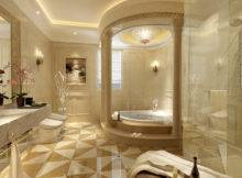 Bathroom Model Luxury Architectural