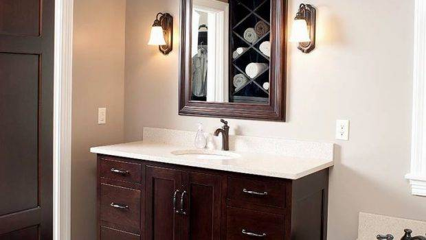 Bathroom Paint Colors Dark Cabinets Design