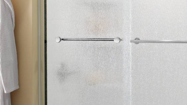 Bathroom Shower Doors Privacy Glass Patterned Etched Opaque
