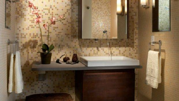 Bathroom Tiles Mosaic Orchid Stool Small Ideas