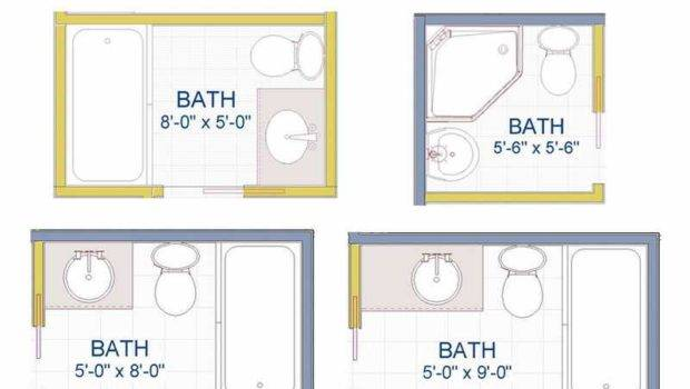Bathroom Very Small Design Plans Floor