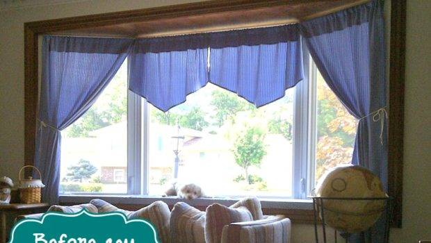 Bay Window Decorating Ideas Plucky Second Thought