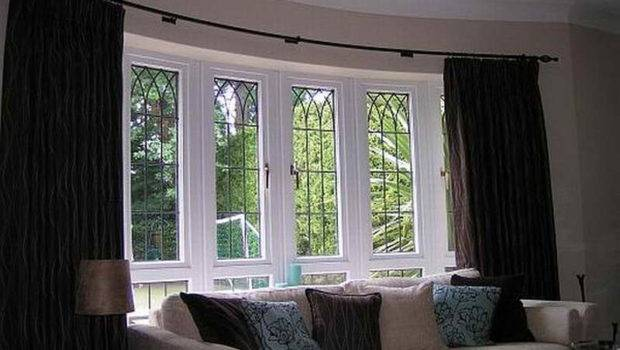 Bay Window Design Ideas Curtains