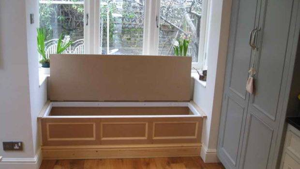 Bay Window Storage Seat Ideas Cushions