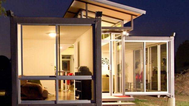 Beast Turns Into Beauty Shipping Container Homes Small Houses