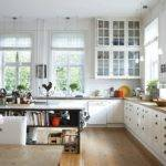 Beautiful All White Country Kitchen Album Comments