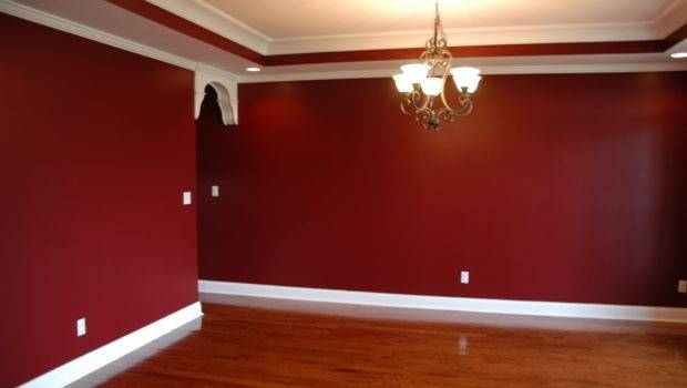 Beautiful Dark Red Wall Paint Collection Art Ideas