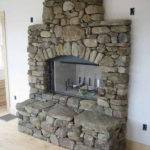 Beautiful Fieldstone Fireplace House Ideas Pinterest