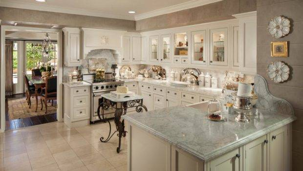 Beautiful French Country Kitchen Design