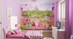Beautiful Heart Theme Teen Girls Bedroom Decorating Ideas