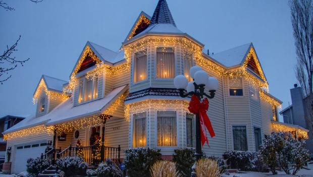 Beautiful Home Decorated Christmas Photos