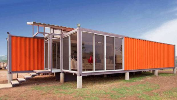 Beautiful Homes Made Shipping Containers Rungmasti