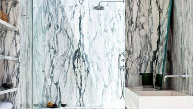 Beautiful Marble Details Your Luxury Bathroom