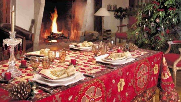 Beautiful New Year Eve Christmas Table Decorations