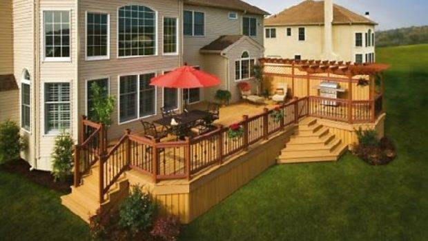 Beautiful Outdoor Deck Ideas Makehomedesign Home Design
