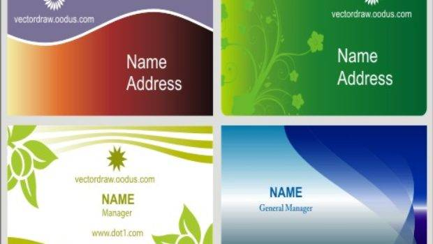 Beautiful Visiting Card Styles Cdr Created