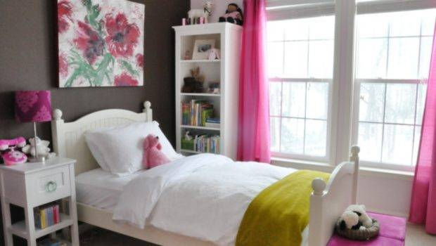 Bed Bedroom Decor Teenage Girl