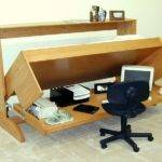 Bed Desk Plans Captains Solid Wood Bunk